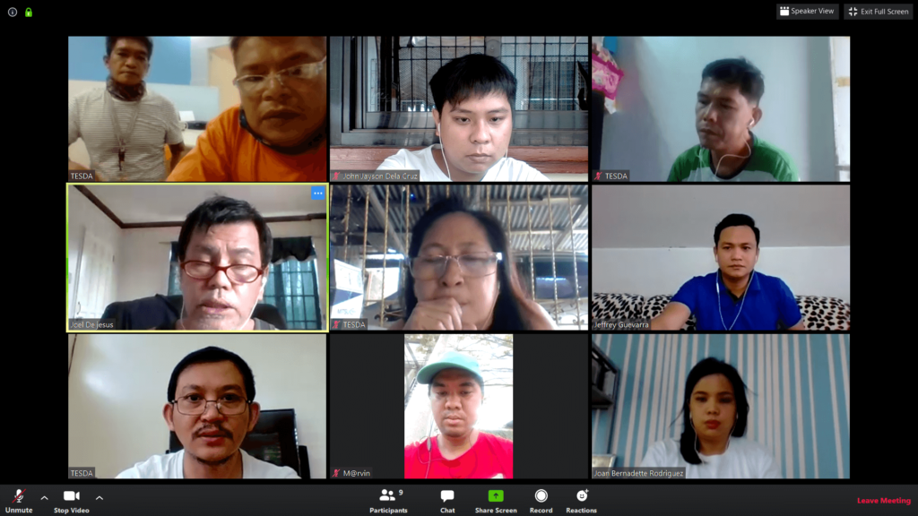 RTCCL Guiguinto Staff Meeting via ZOOM app